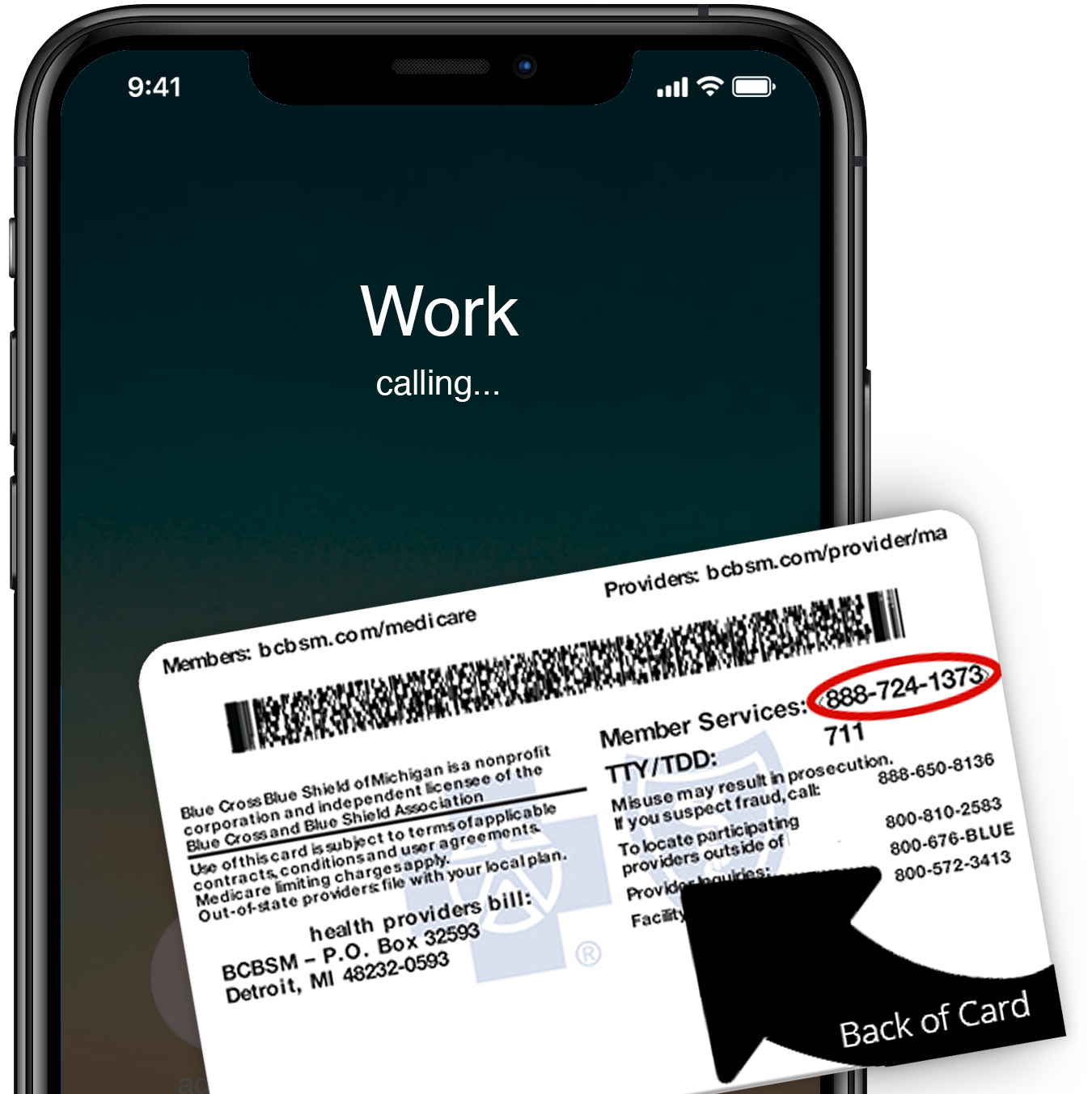 iPhone-Calling-MedCard